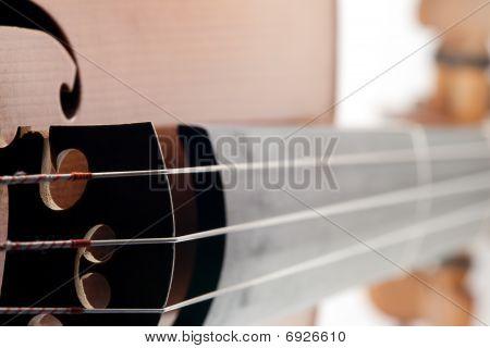 alten Stil Violine mit wenig Dämmerung