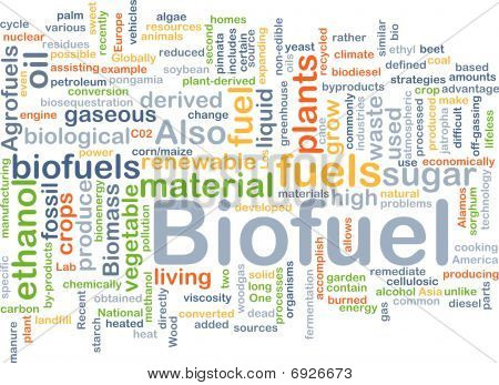 Biofuel Fuel Background Concept