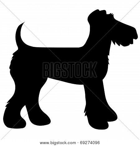Airedale Terrier Silhouette