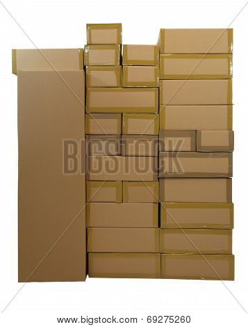 Stacked Cartons