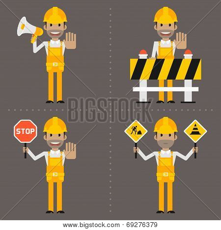 Builder concept prohibiting signs