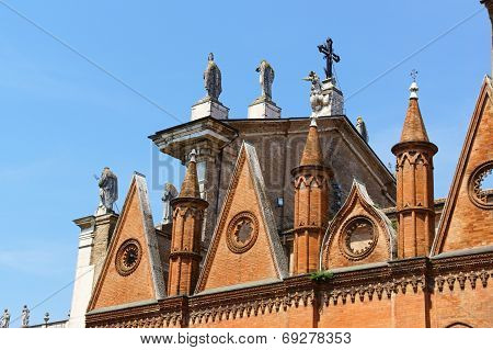 The Cathedral Of Saint Peter The Apostle (duomo Di Mantova) In Mantua, Italy