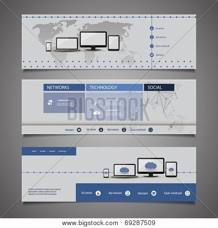 Web Design Elements - Header Design