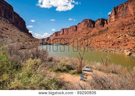 Colorado River Canyon