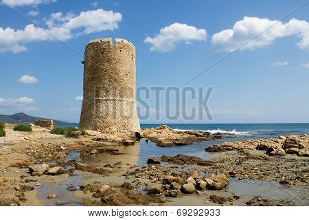watchtower to the beach