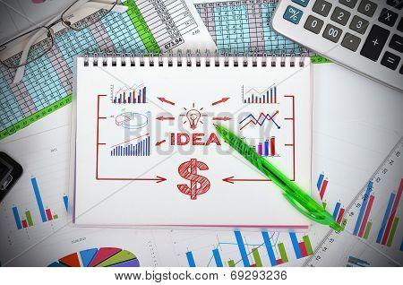 Drawing Idea Concept