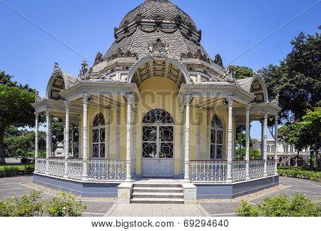 Byzantine Pavilion In Lima, Peru