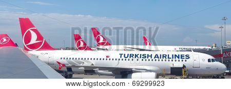 Turkish Airlines Planes