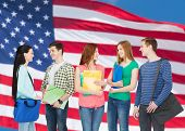 foto of citizenship  - education and people concept  - JPG