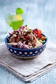 foto of chicory  - Rustic Tuna Salad with White Beans - JPG