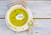 image of marrow  - vegetable marrows sour cream and fennel soup - JPG