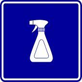 picture of trigger sprayer bottle  - sprayer bottle sign - JPG
