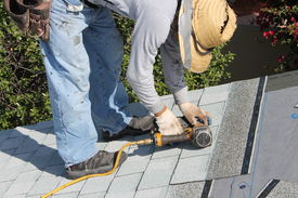 image of scrape  - Home Roof Construction Site - JPG