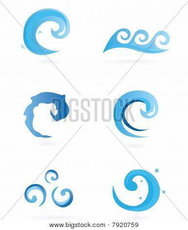 Water Icons - Waves