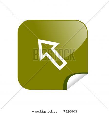 button arrow
