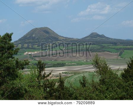 Interesting Hilly Landscape