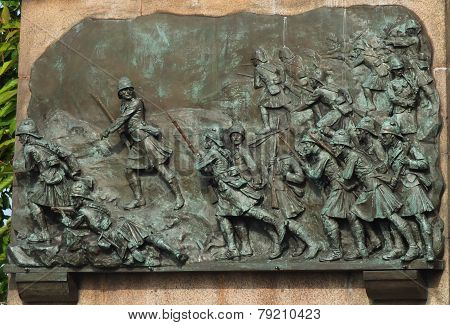 Black Watch War Memorial Edinburgh