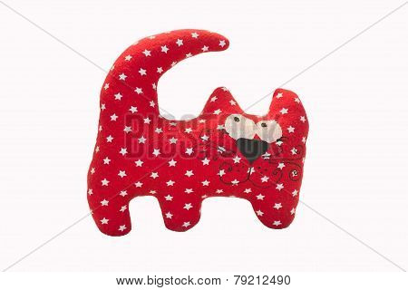Red Cat Toy