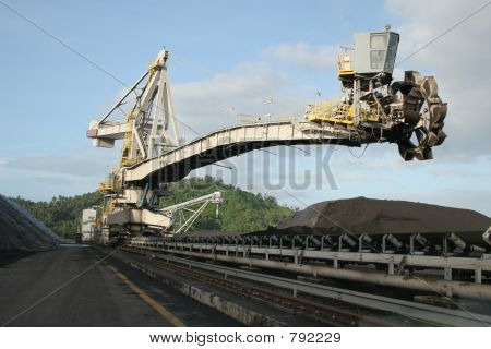 coal stacker reclaimer