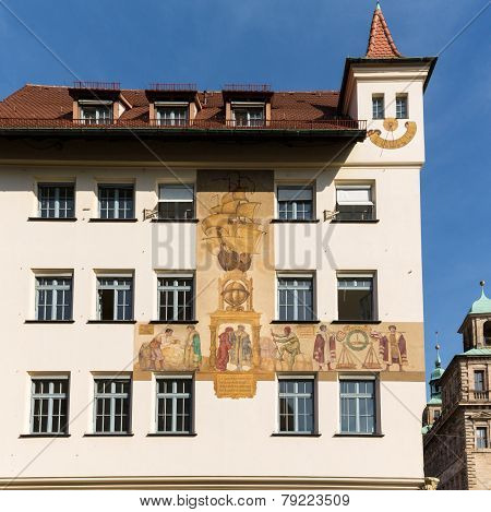 Wall Painting Or Mural Nuremberg