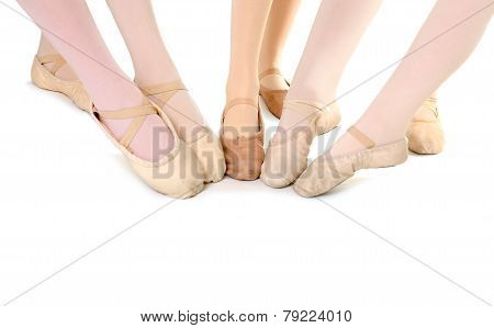 Feet Of Ballet Students