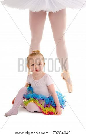 Dance Child With Ballerina Legs