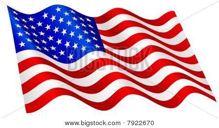 Amerikaanse vlag.