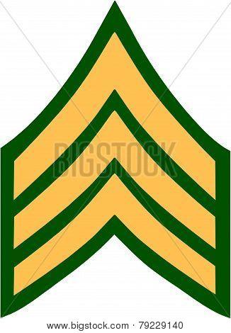 US Sergeant Insignia