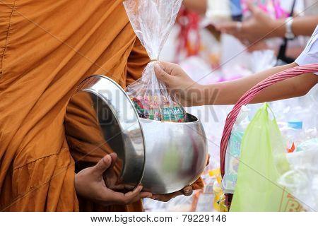 Monks In Thailand