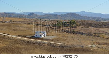The Landscape around Cartama Andulucia Spain