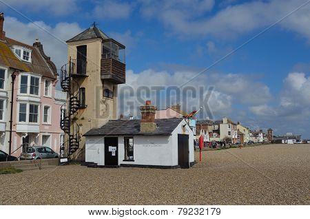Old Watchtower on Aldeburgh beach