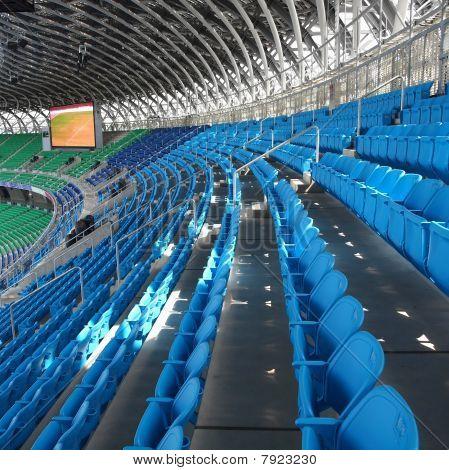 große moderne Sportanlage