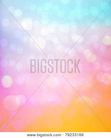 Abstract Color Background Pattern
