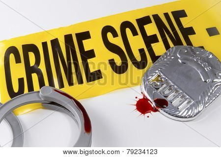 Blood On The Crime Scene