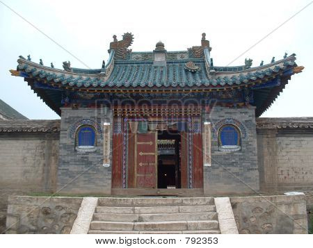 Mongolian temple gate