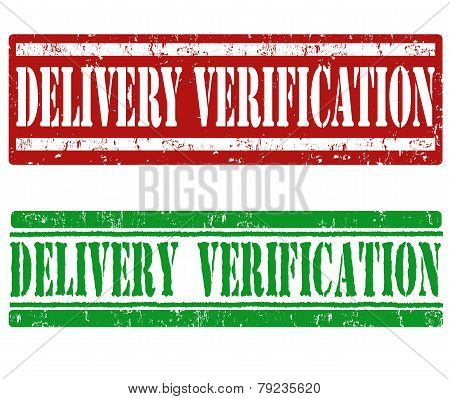 Delivery Verification Stamps