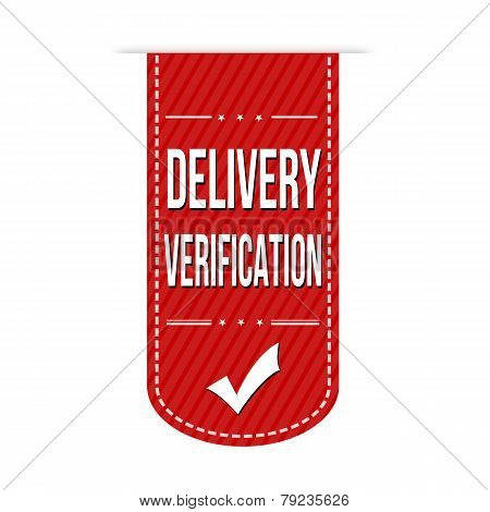 Delivery Verification Banner Design