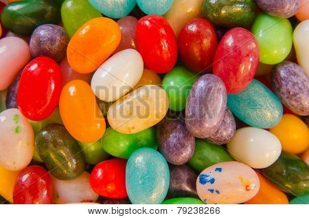 Jelly Beans Close Up