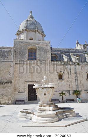 St. Pietro Church. Monopoli. Apulia.