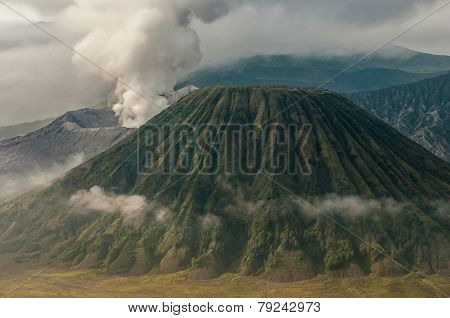 Bromo Volcano At Sunrise