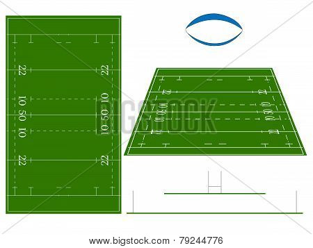 Rugby Union Field