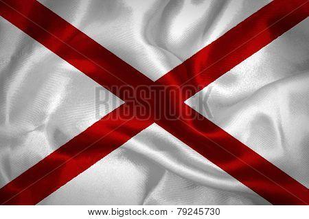 Flag of Alabama state (USA)