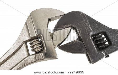 Adjustable Wrench Work Spanner