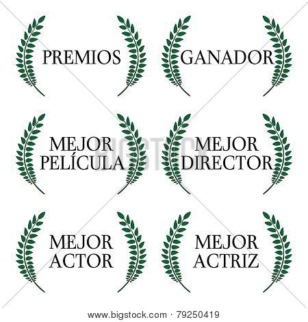 Film Winners Laurels In Spanish 1
