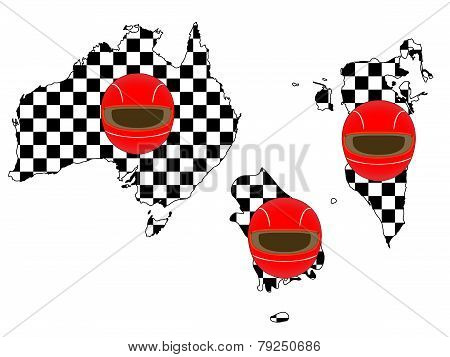 Racing Flag Maps 1
