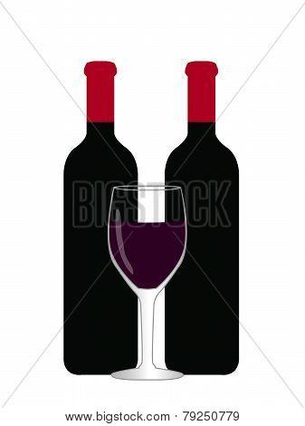 Wine Illustration 1