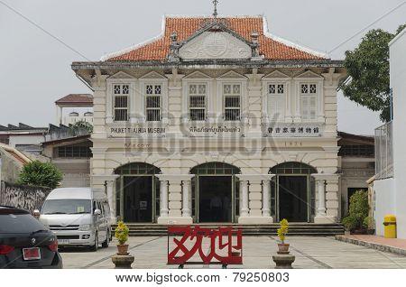 Phuket Town, Thailand-Sept,18 2014:Thai Hua Museum in Phuket Town, Thailand