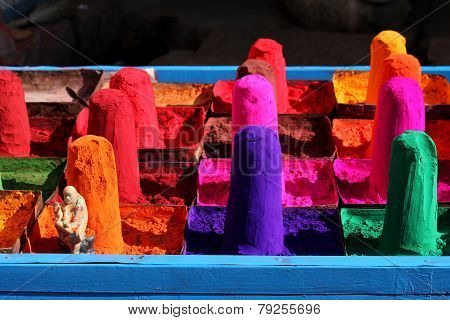 Colored Sand (gulal)