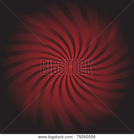 Background Vector-Maroon Swirling Light Burst