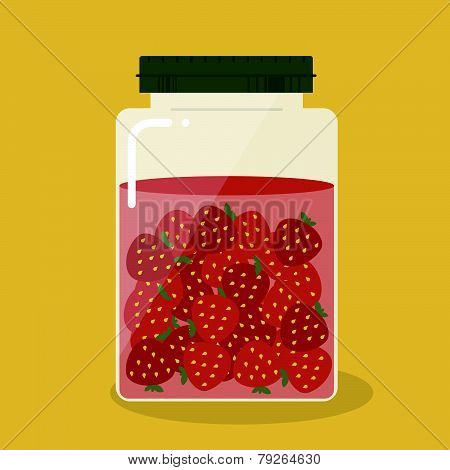 Pickled Strawberry